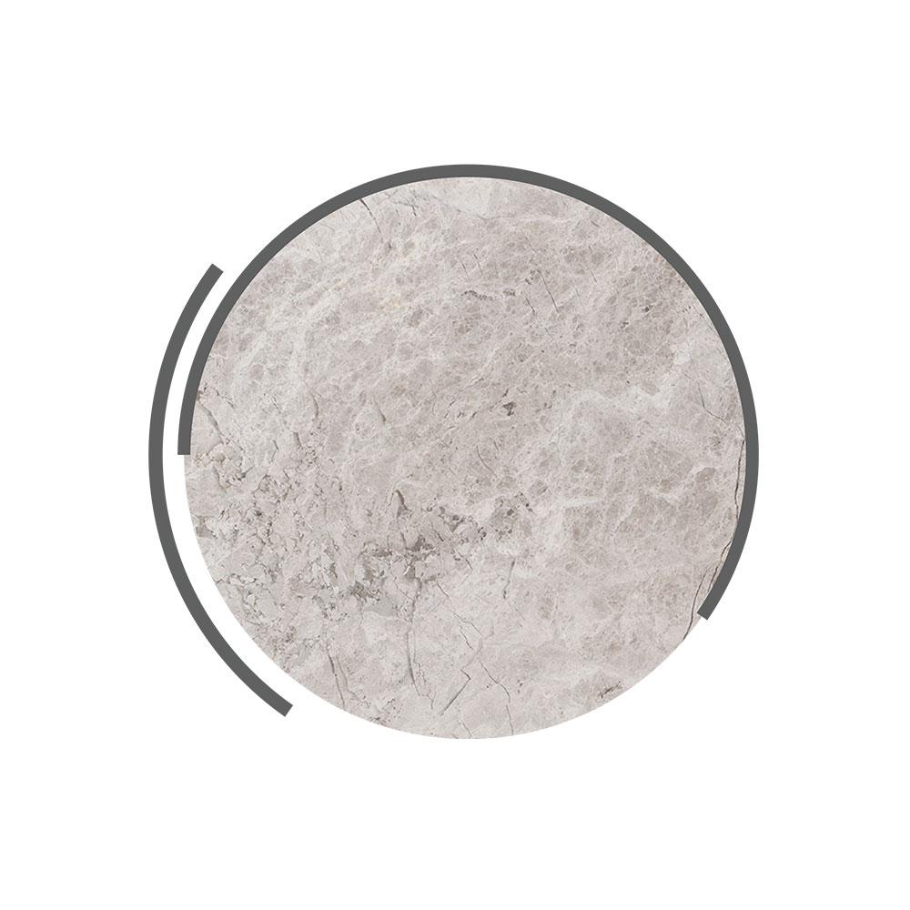 tundra grey marble